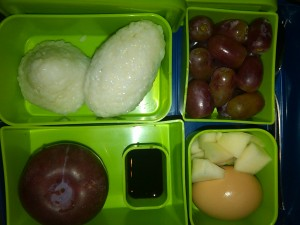 Rice Balls, Organic Grapes and More