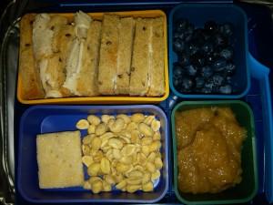 Turkey Sandwich, Blueberries & More