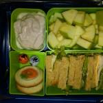 Turkey Sandwich, Raspberry Yogurt and More