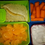 Dino PB&J, Mandarin Oranges and More