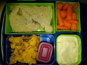 Dino PB&J, Organic Carrot Sticks and More
