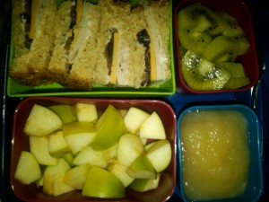 Turkey, Cheese and Olive Sandwich and More