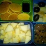 Mini Pancakes, Diced Apples and More