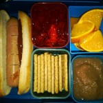 Hot Dog on a Bun, Strawberry Jello and More