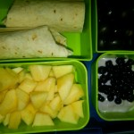 Bean & Cheese Burrito, Diced Apples and More