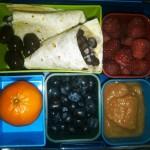 Bean Burrito, Raspberries and More
