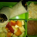 Bean Burrito, Diced Apples and More