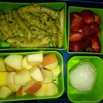 Pesto Pasta, Rice Ball and More