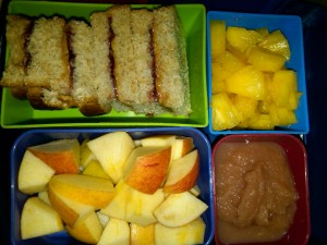 Peanut Butter and Jelly, Diced Pineapple and More