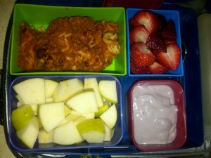 Lasagna, Diced Organic Apples and More