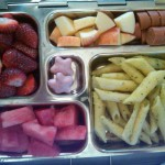 Diced Hebrew National Hot Dog, Watermelon and More