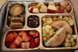 Bagelwich, Organic Strawberries and More