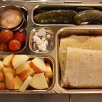 Tofurky Wrap, Dill Pickles and More