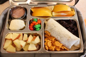 Black Bean and Cheese Burrito, Orange Slices and More