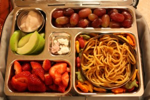 Spaghetti, Red Grapes and More