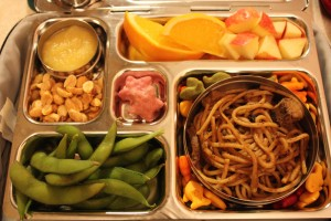 Chinese Noodles, Orange Slices and More
