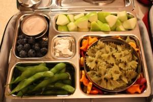 Pesto Bowties, Edamame, and More