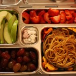 Spaghetti, Sliced Apples and More
