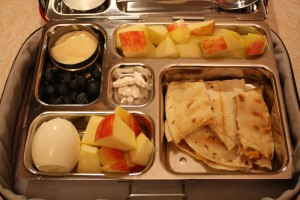 Quesadilla, Blueberries and More