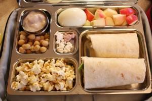Garbanzo Beans, Avocado/Turkey Roll and More