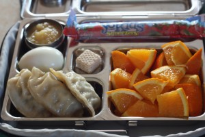 Yo Kids, Potstickers and Orange Slices
