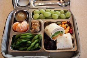 Green Grapes, Turkey Wrap and More