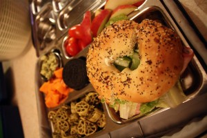 Bagelwich Close Up