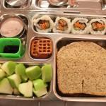 Veggie Sushi, Waffle Pretzels & More