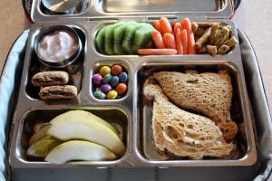 Dino Sammy, Pears, Kiwi & Carrots