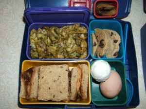 PB&J Sandwich, Pesto Tortellini, Hard-boiled Egg and More