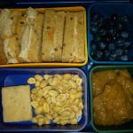 Turkey Sandwich, Blueberries & More