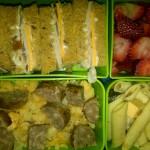 Turkey and Veggie Cheese, Strawberries and More