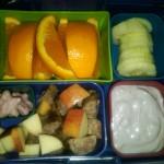 Cucumbers, Orange Slices and More
