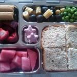 Turkey Sandwich, Watermelon and More