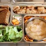 Green Salad, Squash Bread and More