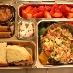 Pasta Salad, Strawberry Pile and More