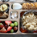 Fruit Salad, Crackers and Cheese & More
